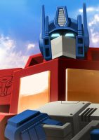Optimus Prime by LONEOLD