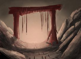 Mountain's Gate by Imrooniel