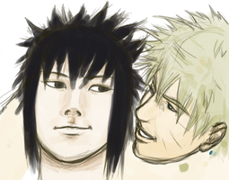 Naru n Sasu by RainCow