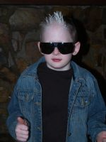 kid with sunglasses stock A by Irie-Stock