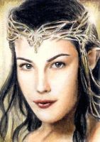 Liv Tyler mini-portrait by whu-wei