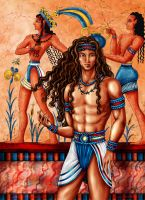Minoan Prince by Yagellonica