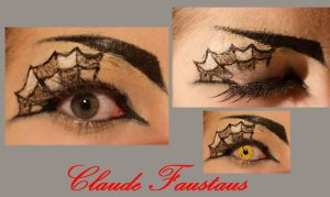 Claude inspired makeup by thearabellablack