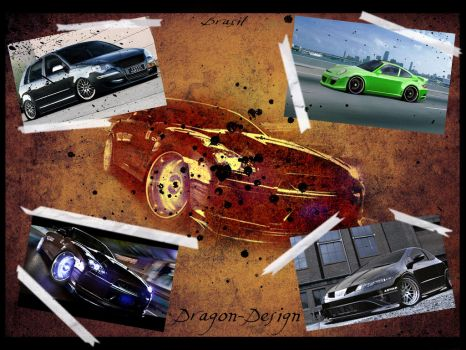 Walpaper my Car's by Dragon-Design