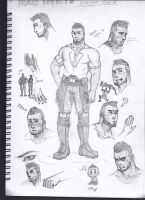 James Vega Sketch by S-Kinnaly
