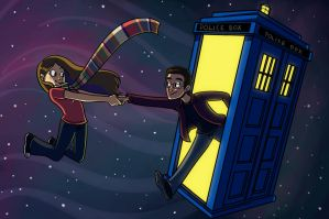 Dr Who Commission by Shannon-Long