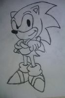 This failed miserably :) Classic Sonic by HanBot-55