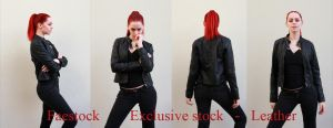 Leather Exclusive stock by faestock