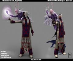 The Shaman 3D by 3dmodeling