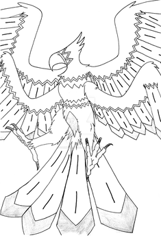 Waikinyan Tanka the Great Thunderbird - WIP by 0ArmoredSoul0