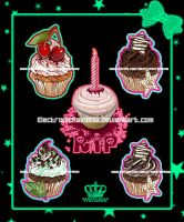 Cupcake Madness by ElectronicRainbow