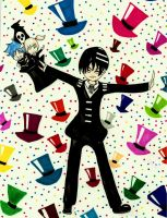 death the kid the magician by blackflameknight