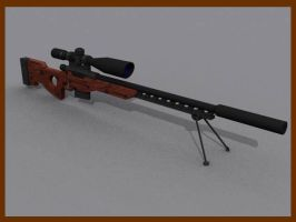 sniper rifle by greg156