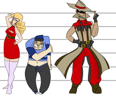 The Police Lineup by Frey-ofthe-Arcane