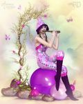 Whimsical Melodies by RavenMoonDesigns
