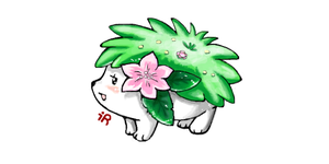 Shaymin by TomSeptember