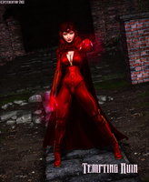 Scarlet Witch by petercotton by singory