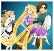 Tangled by Fandias