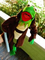 Kermit the Jedi by pixi996