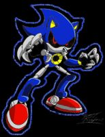 Metal Sonic:. by 5courgesbestbuddy