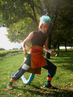 Ranulf into fight by Skull-the-Kid