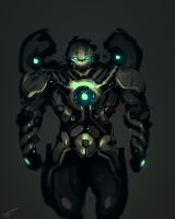 Iron Man Fan Art DARK CLOUD by benedickbana