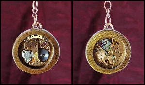 Double-Sided Pendant by Fandragon