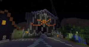 Minecraft:  Halloween Town Town Hall by Sherio88