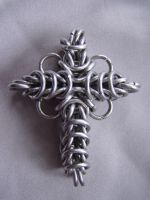 Chain Maille Cross by Imbrium66