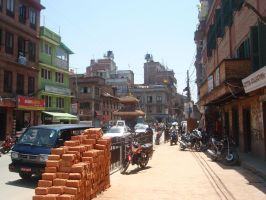 On the way to Patan by Woolfred