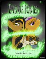 End Of Ponies (with Text and Title) by MajorBrons