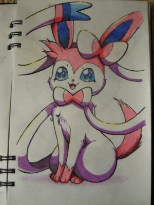 Sylveon by fireangel21