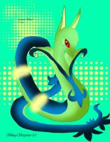 Shiny Serperior: Good Vibes by BlueySerperior