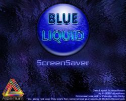 Blue Liquid ScreenSaver by klen70