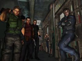 Resident evil wallpaper 22 by ethaclane