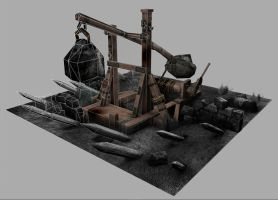 Warhammer Catapult - LP by jotun