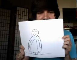 Damon Fizzy (DeeFizzy)'s Penguin Drawing by SmoshyArt