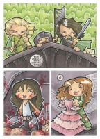 LotR and Firefly sketch cards by katiecandraw