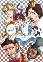 House MD+Alice in Wonderland by Ery-chan