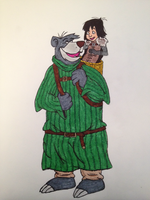 The Jungle Book with Bran and Hodor by timburtongot