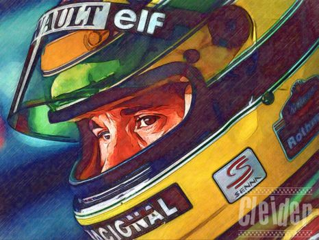 Ayrton Senna Draw 2 by appelt65