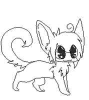Animal lineart thingy. c: by bronzefish678