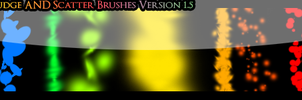 Smudge and Scatter Brushes by Sliferdude