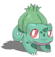 Bulbasaur Pixel by CleverConflict