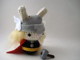 Thor Moon Bun by MoonYen