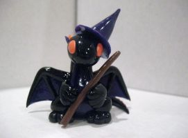 Witchy Dragon - Finished! by drakeo1903