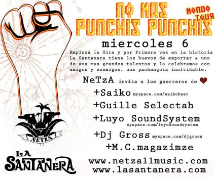 Flyer 1-Tour No mas Punchis by exporadica