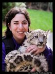 Snow Leopard and me by TVD-Photography