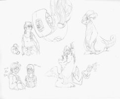 Doodles by kyanchan