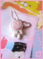Sweetie Pie Lollipop Necklace by Arinmon